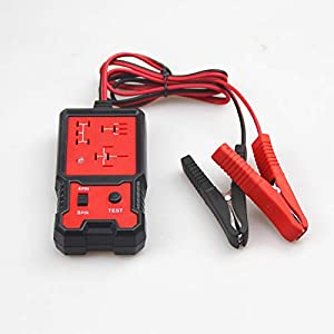 UTMALL Universal 12V Cars Relay Tester Relay Testing Tool Auto Battery Checker Accurate