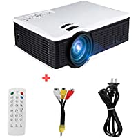 Edal SD50 Plus 1500 Lumen Home theater LCD LED Portable Mini Projector Cinema Vedio Multimedia Support 1080P Visions