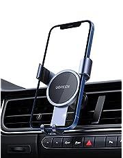 UGREEN Gravity Auto Telefoonhouder Autohouder met Stille Structuur voor Ventilatierooster Compatibel met iPhone 13 Pro Max Mini 12 11 X Se 8 7 Galaxy S21 Ultra S20 Note20 Redmi Note 10 Pro