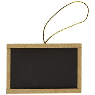 New Star 27907 Black Mini Chalkboards, 2 by 3-Inch, Set of 12