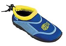 Beco Sealife Badeschuhe, Surfschuhe, Strandschuhe, Wattschuhe infantil unisex, Azul (blau), 28/29 EU