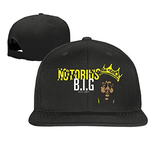 Notorious Big baseball cap hip hop hat Black (5 colors)