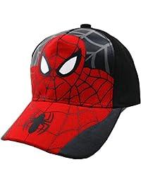 Kids Spider Man Cartoon Falt Hat Snapback Spiderman Boys Toddler Cotton Baseball Cap hat