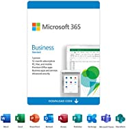 Microsoft 365 Business Standard | 12-Month Subscription, 1 person | Premium Office apps | 1TB OneDrive cloud s