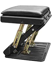 Foldable footrest with Removable Soft Foot Rest Pad, Adjustable Under Desk Foot Rest for Office, Home, car
