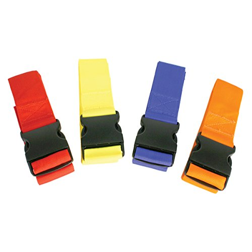 Kiefer colorCoded Spine Board 4 Torso Straps, Assorted colors