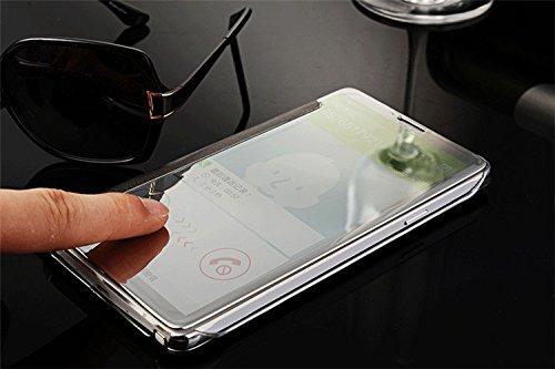 Vandot 3 in1 set hard case funda estuche Para Samsung Galaxy S6 Edge ultrathin Clear Hard Case Protective Shell Case Duro Protection Case Protective Cover protectora Caja bolso carcasa Protección duro Flip plata