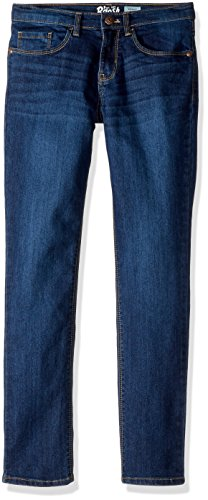 Osh Kosh Girls' Kids Skinny Denim, Marine Blue, 5