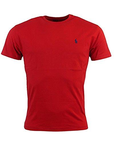 Ralph Lauren Men's Pony Logo T-Shirt (XX-Large, Red)