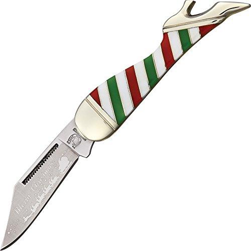 Leg Rough Rider (Rough Rider RR1413 Leg Merry Christmas Knife)