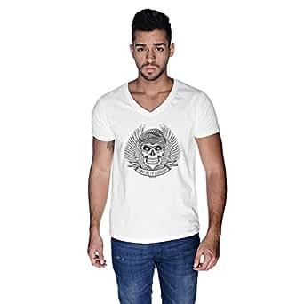 Creo Take Me To Jumeirah Bikers T-Shirt For Men - L, White