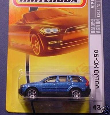 - Matchbox Mattel 2007 Volvo XC-90 # 43 VIP Luxury Blue