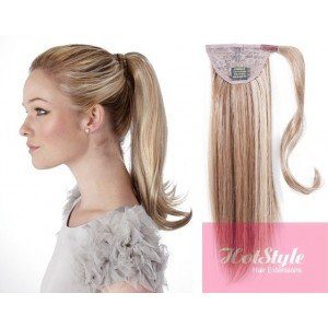 HOTstyle - Clip in ponytail wrap / braid hair extension 2...