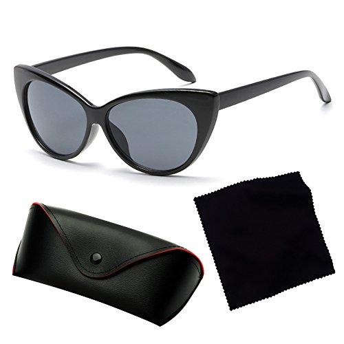 personalidad Eye gafas de de de Retro C6 Gafas la Juleya UV400 Women sol Cat Vintage wqPIa0XR