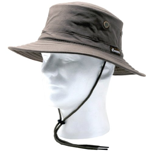 Sloggers Classic Cotton Hat with Wind Lanyard