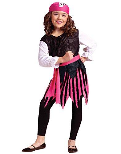 Caribbean Pirate Girl Kids Costume