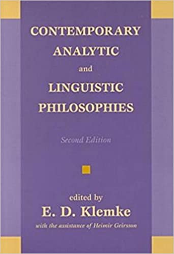 Amazon contemporary analytic and linguistic philosophies contemporary analytic and linguistic philosophies 2nd ed edition fandeluxe Images