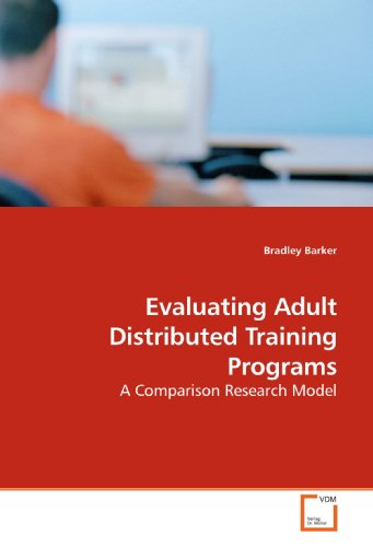 Evaluating Adult Distributed Training Programs: A Comparison Research Model