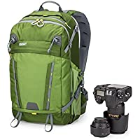 MindShift BackLight 26L Backpack for DSLR Camera, Mirrorless Camera, Lenses, Flashes, 15 Laptop and Tablet, Greenfield