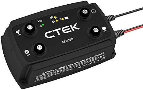 CTEK D250SE Batterieladeger/ät solarbetrieben bis 20 A 2 Lichtmaschinen-Eing/änge 12 V