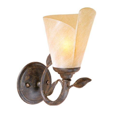 (BLACK FOREST DECOR Capri Cabin Vanity Light - 1 Light - Wilderness Fixtures)