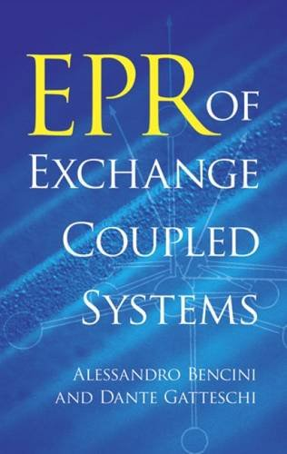 EPR of Exchange Coupled Systems (Dover Books on Chemistry and Earth Sciences)