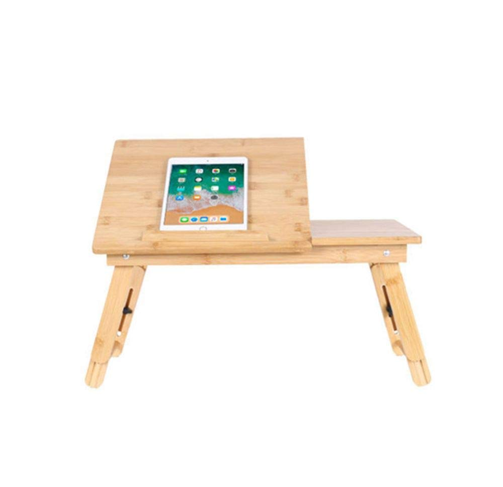 Laptop Computer Notebook Life Portable Folding Desk Table Stand Bed Tray,Non-Slip Adjustable Height Solid Wood Support Panel Modern Simplicity Style Design,for Play Games on Bed Storage by LUCKY ZERO 2025