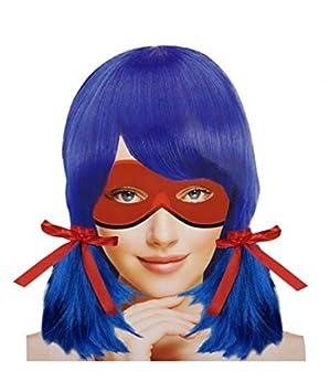 Peluca Heroína Bug Azul