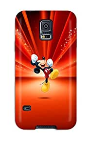 Tpu Case Cover For Galaxy S5 Strong Protect Case - Disney Design