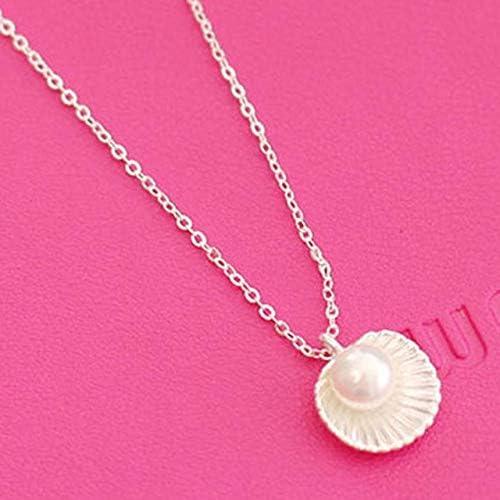NoBrand Artículo Original Productos Excelentes Collar Perlas Conchas Casuales Encantador Hermoso Día de San Valentín Presente