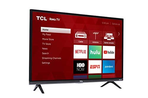 TCL 32S325 32 Inch 720p Roku Smart LED TV (2019)