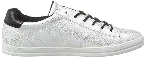 Esprit Mega Lace Up Damen Sneakers Weiß (100 Wit)