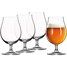 Spiegelau Tulip Classics Beer (Set of 4), Clear