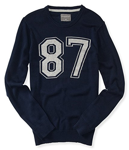 Aeropostale Mens Intarsia Pullover Sweater 437 M