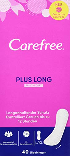 Slipeinlage Long Plus fresh, 40 Stück