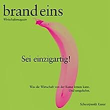 Die Magie der kleinen Dinge (brand eins: Kunst) Hörbuch von Gerhard Waldherr Gesprochen von: Anna Doubek, Michael Bideller