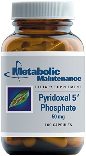 Metabolic Maintenance - Pyridoxal 5 Phosphate - 50 mg Bioavailable P-5-P for Neurotransmitter Support, 100 Capsules