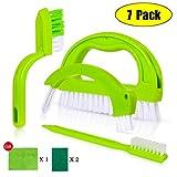 Tile Brushes Grout Cleaner - Kimyer Joint Scrubber Brush Cleaner Set, 7 Pack