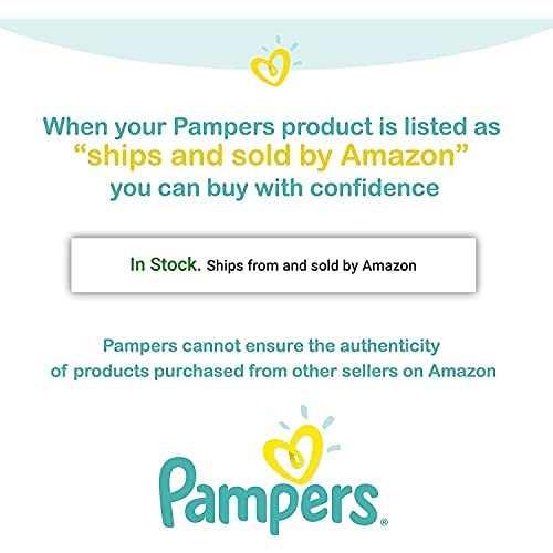 Pampers Swaddlers Disposable Baby Diapers, Enormous Pack (Packaging May Vary), Size 6, 108 Count