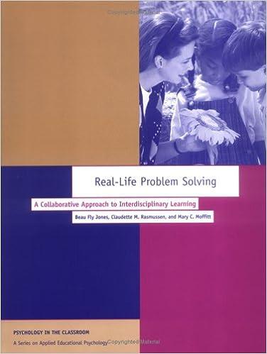 Real life problem solving