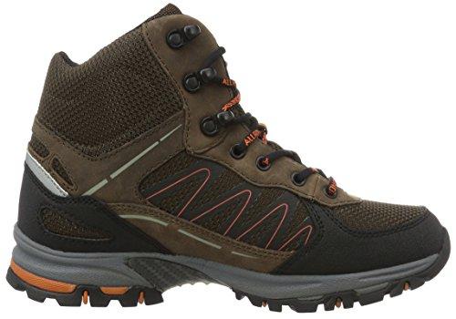 Ankle Boots Brown 51 Braun Mephisto Rubber 16 1 WoMen Brown Tex Black 5 Padua Dk Ori 88Y0ZR