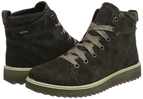 Asphalt Hohe Braun Legero Campania Damen Sneaker wOqEznX7U
