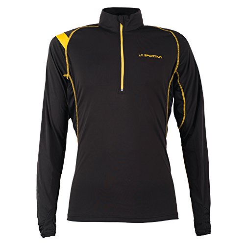 La Sportiva Mens Action Long Sleeve Shirt - Mountain Trail Running Shirt for Men