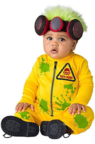 Fun World Costumes Little Boys' Toddlers Toxic Waste Hazmat -