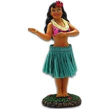 """Hawaiian Hula Girl 4"""" X 2"""" X 1.5"""""""