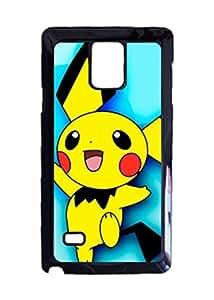 Engood Design Pokemon Pichu Case Durable Unique Design Hard Back Case Cover For Samsung Galaxy Note 4 New
