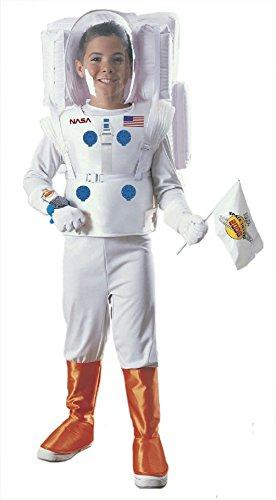 [Astronaut NASA Child Costume Size Large 12-14] (Zombie Jailbird Costume)