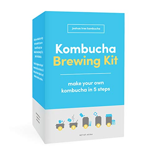 Kombucha Brewing Kit with Kombucha Scoby (Starter)