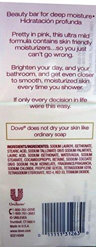 Dove Sensitive Skin Pink 16-4 OZ Bar Soaps, 64 OZ