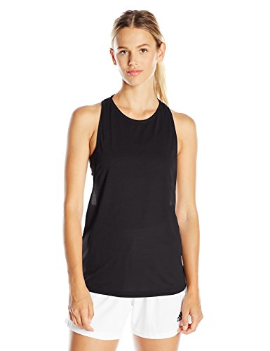 adidas Women's Performer Tank Top, Medium, Black